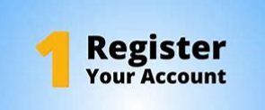 Use your Account # to Register your account!